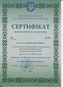 Павлюк Эколог аудит